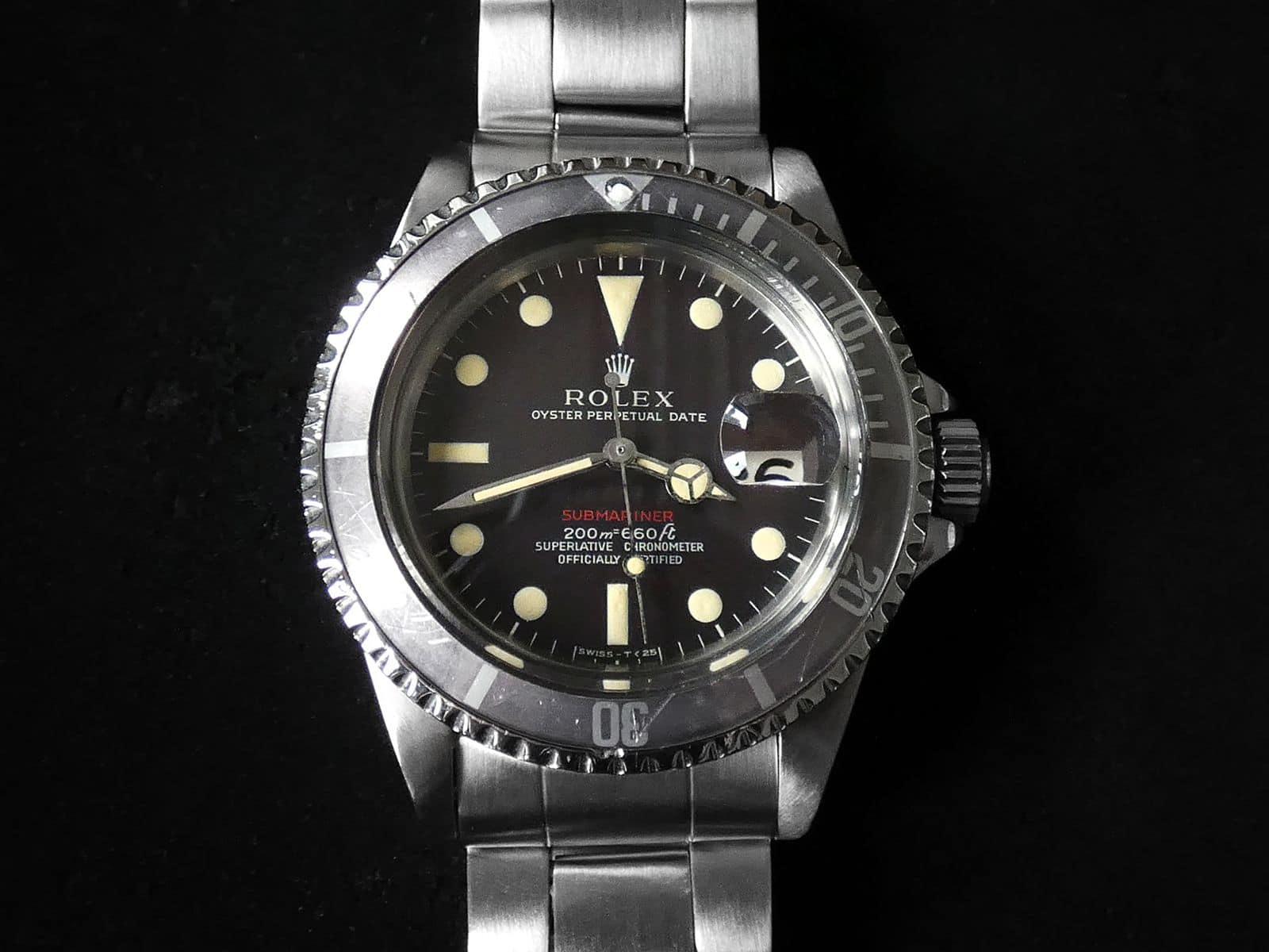 Rolex Red Submariner Ref.1680 〜 Mark I