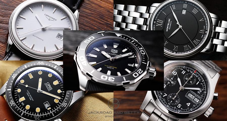 10万円前後で買える憧れの本格メンズ腕時計まとめ