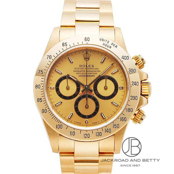 Rolex Cosmograph Daytona Ref.16528, Champagne dial, 18K Yellow gold