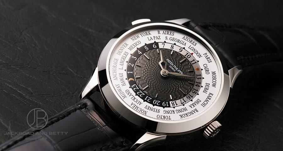 【パテック・フィリップ ワールドタイム】世界の主要都市の時刻がひと目でわかる高級実用時計